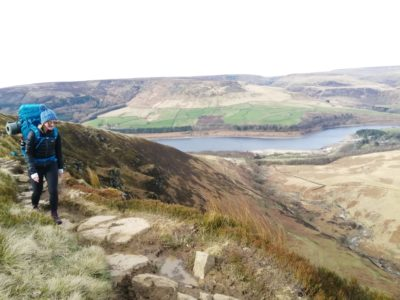 Berghaus Trailhead Rucksack on the Pennine Way