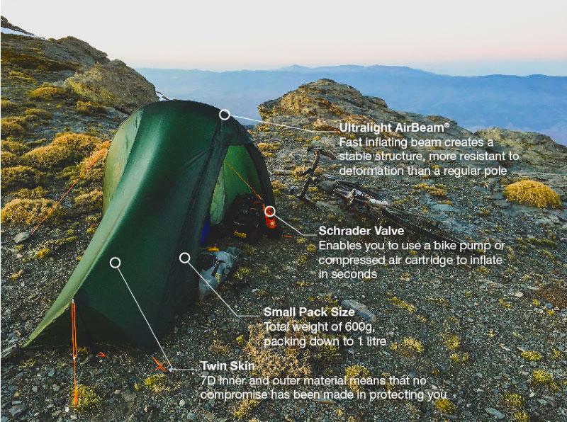Vango Vango Project Hydrogen Air One Person Tent   Tents